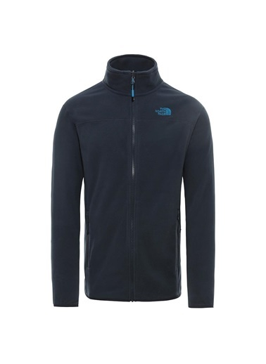 The North Face The North Face 100 Glacier Full Zip Erkek Polar Lacivert